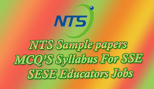 lsetocblog • Blog Archive • Nts sample papers for teachers