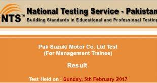 Pak Suzuki Motor Co. Ltd Test ntsonline 2017-02-21-11-58-04