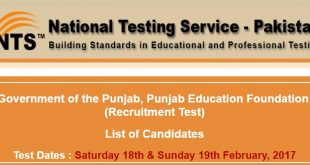 Punjab Education Foundation