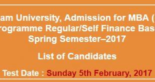 Quaid-i-Azam University Admission 2017