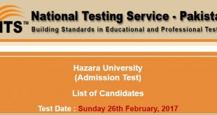 hazara university nts roll no slip admission test ntsonline-2017-02-21-13-18-23