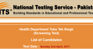 Health Department Toba Tek Singh (Screening Test) 2017-03-24-16-12-16