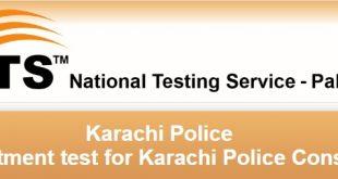 Karachi Police Jobs 2017