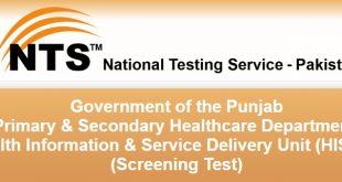 Punjab HISDU Jobs 2017 Application forms