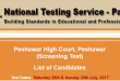 Peshawar High Court List of Candidates-2017-07-21-23-50-54