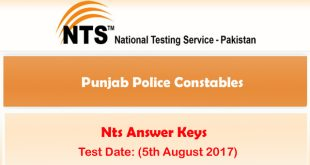 nts police test 5th august 2017 ntsonline 08-06-2017